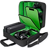 USA GEAR Custodia Xbox - Custodia per Console Compatibile con Xbox Series X e Xbox Series S con Interni Personalizzabili per