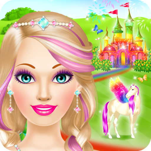 Magic Princess Salon: Spa, Makeup and Dress Up Spiele für Mädchen und Kinder