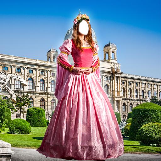 Mittelalterliche Frau Kleid Montage (Stile Mittelalterliche Kleidung)