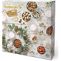 Seeberger Adventskalender 2021 I Vegan Edition: Weihnachtskalender mit 24 natürlichen Snacks - befüllt mit leckeren…