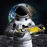 Kampf auf dem Mond: Raumschiff Spiele Jet Fighter Simulator Mondreiter 2018 Kampf um Mond Spiele für Kinder befreien die erstaunliche Mond Eindringlinge extreme Raumschiff Krieg