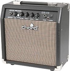 Chord CG-Series 15cm (6 Zoll) Kompakt E-Gitarrenverstärker 3-Band EQ Overdrive