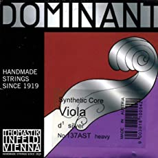 Dominant 15 -16 Viola D String - Stark(Thick) Gauge - Silver Wound Perlon Core - Thomastik Infeld