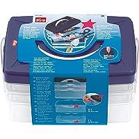 PRYM 42120 Boîtes de rangement Plastique Transparent 24 x 16,5 x 14 cm