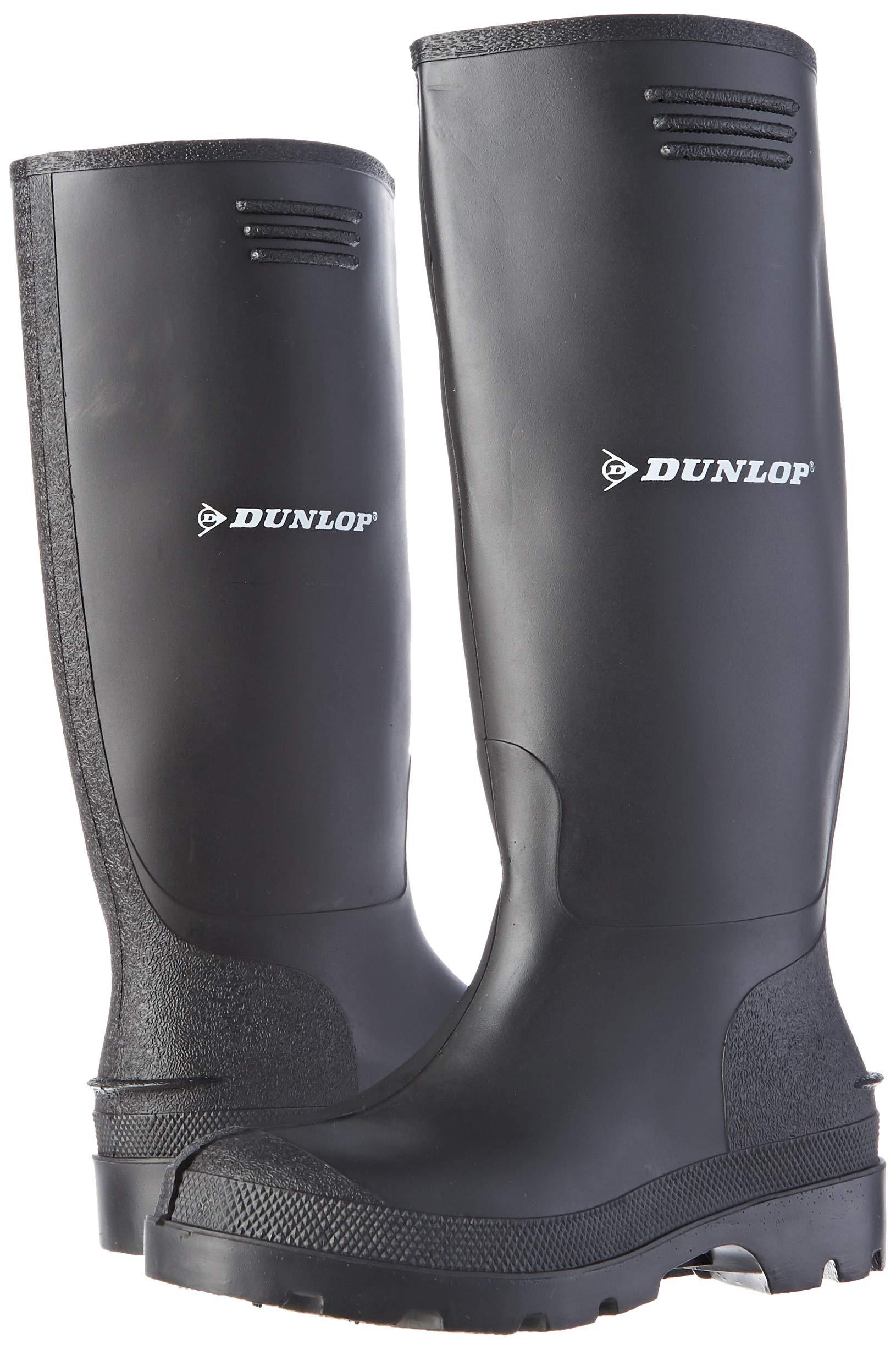 Dunlop Pricemastor PVC Welly / Mens Boots (8 UK) (Black) 5