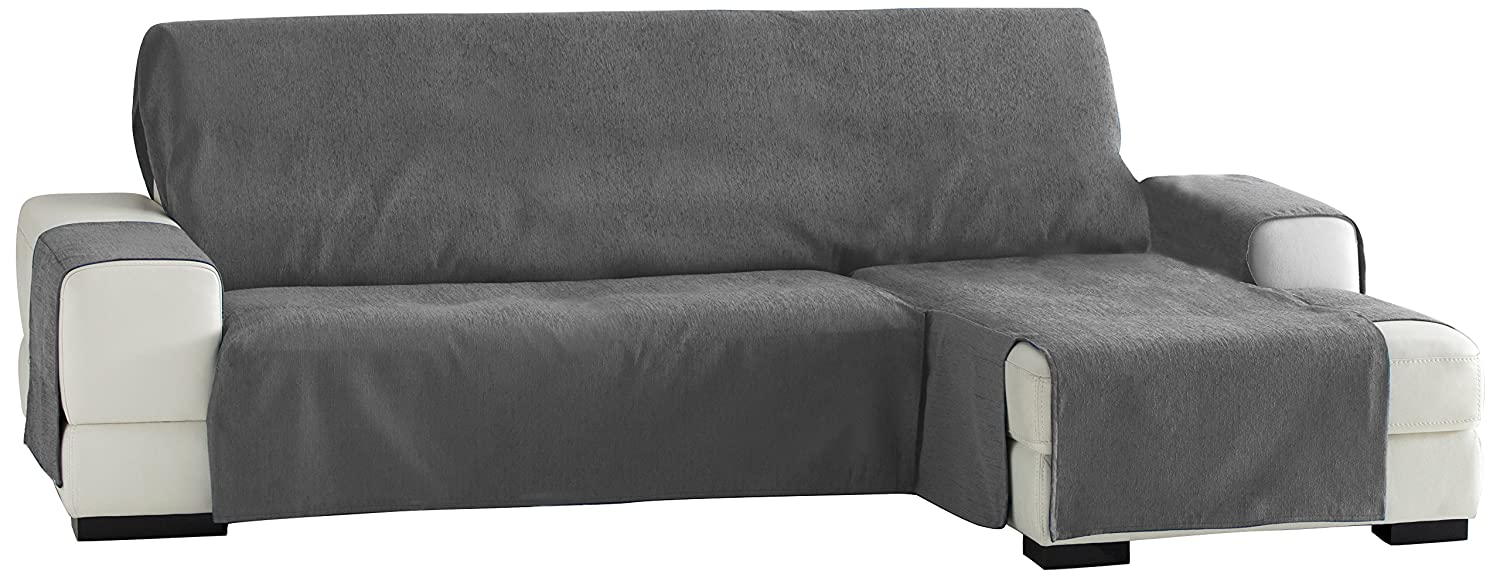 Zoco chaise longue 240 cm. destra vista frontale - col. 17-marrone ...