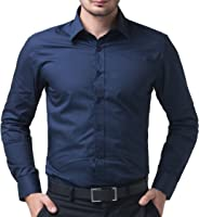 BS Fashion Full Sleeve slim Fit Plain Casual Shirt for Man,Casual Shirts,100% Cotton Shirts,Plain Shirts Cotton,Casual...