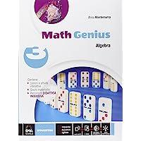 Math genius. Aritmetica-Geometria-Palestra delle competenze. Per la Scuola media. Con e-book. Con espansione online: 3