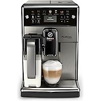 Saeco PicoBaristo Deluxe SM5573/10 Kaffeevollautomat, 12 Kaffeespezialitäten (integriertes Milchsystem, LED Display…