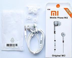 Generic 3.5 mm jack earphone with all smarphones - White