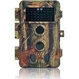 DIGITNOW Caméra de Chasse 16MP 1080P HD Étanche, Appareil Photo de Surveillance 40Pcs IR LED Vision Nocturne Infrarouge Jusqu'à 65FT, Grand Angle 130° pour Sentier Faune Scoutisme Jeu Piste Traque