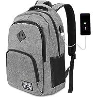 YAMTION Laptop Rucksack Business Rucksack für 15.6 Zoll Laptop Schulrucksack mit USB Ladeanschluss für Arbeit Wandern…