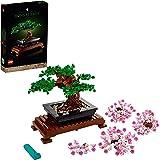 LEGO 10281 Creator Expert Bonsai Baum, Set für Erwachsene, Hausdekor, DYI-Projekte, Botanik Kollektion