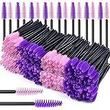 beihuazi® 200Pcs Scovolini Mascara Monouso Applicatori Ciglia Pettinini Ciglia per lavoro sia per Pettinare le Sopracciglia c