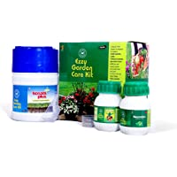 EZZY Garden Care Kit for 50 Plants with Humic Acid, Seaweed and Fulvic Acid, Neem Extract Pesticide and Moringa Extract…