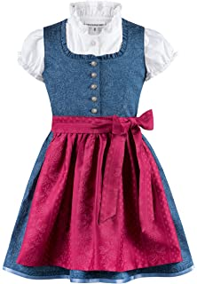 Stockerpoint M/ädchen Kinderdirndl Amalie Jr Kleid f/ür besondere Anl/ässe