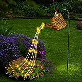 Yeelan Guirlande lumineuse solaire de jardin, douche étoilée, guirlande lumineuse d'extérieur étanche IP65, lampes d'éclairag