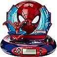 Lexibook - RP500SP - Jeu Electronique - Radio Réveil Projecteur - Spider-Man
