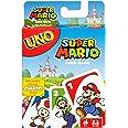 Mattel Games DRD00 – UNO Super Mario Kortspel, Passar för 2–10 Spelare, från 7 År Uppåt