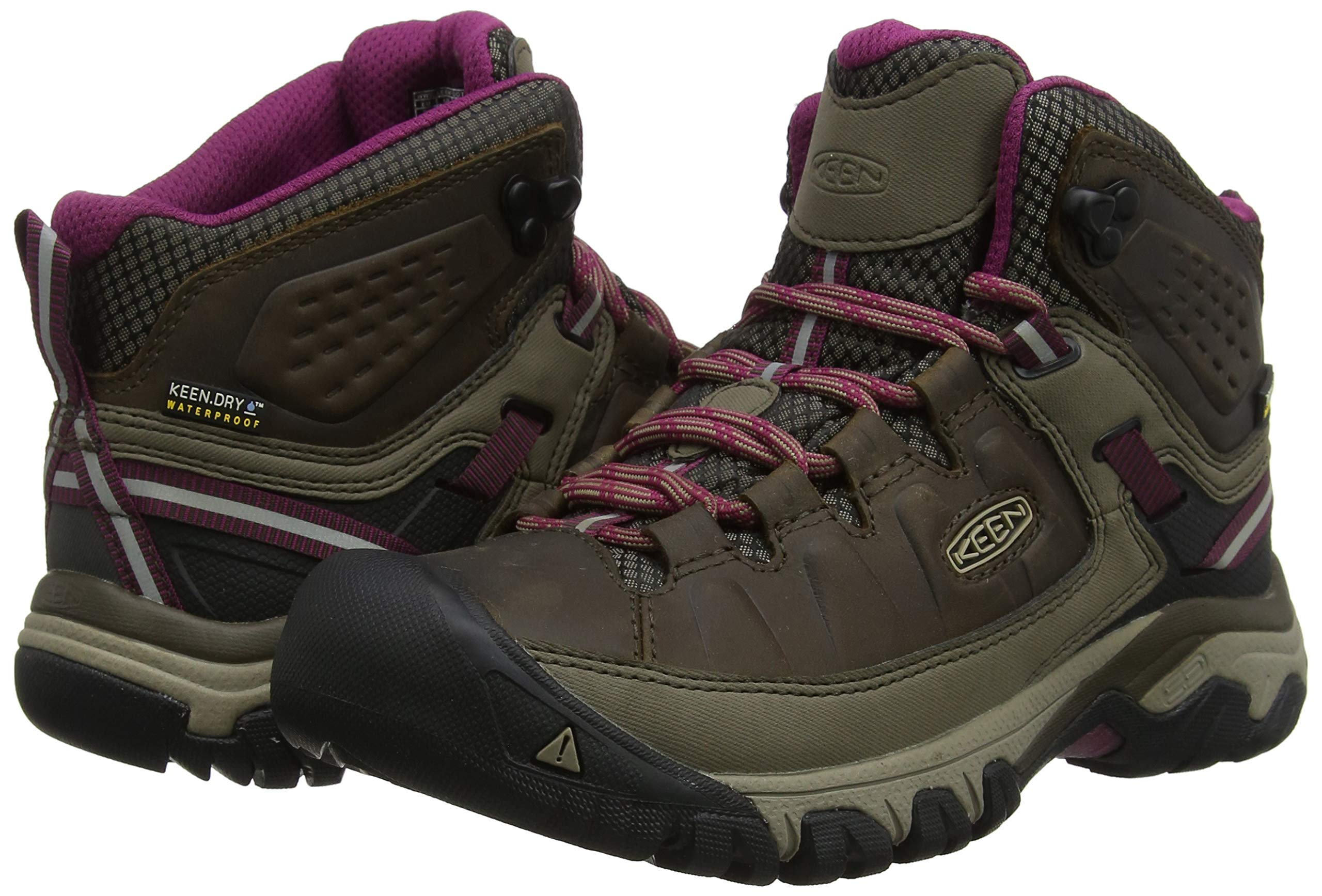 8e9efcb0f74 KEEN Women's Targhee Iii Mid Wp High Rise Hiking Shoes ...