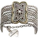 Alpenflüstern, bracciale tradizionale per costume tradizionale bavarese Margot – Elegante bracciale tradizionale – gioielli d