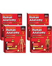 B D Chaurasia's Human Anatomy 4 Volume Set ( Vol.1 to Vol 4)