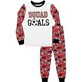 Harry Bear Pijamas de Manga Larga para niños Fútbol Ajuste Ceñido