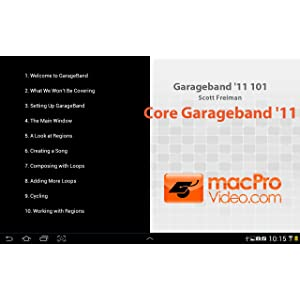 Garageband '11 101: Amazon co uk: Appstore for Android