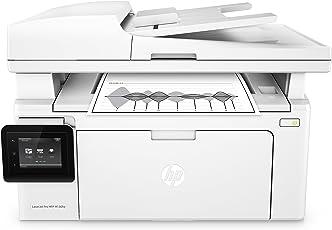 HP LaserJet Pro M130fw Laserdrucker Multifunktionsgerät (Drucker, Scanner, Kopierer, Fax, WLAN, LAN, Apple Airprint, HP ePrint, JetIntelligence, USB, 600 x 600 dpi) weiß