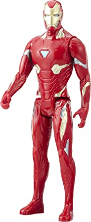 Marvel Infinity War Titan Hero Series Iron Man With Titan Hero Power Fx Port, Ages 4 And Up