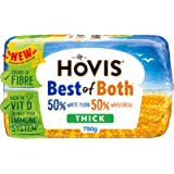 Hovis Best Of Both Thick White Bread, 750g