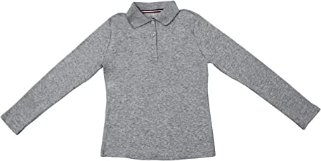 Hey It's Me Full Sleeves Classic Pain Cotton Grey Color Stretchable Polo T-Shirt For Boys/Girls