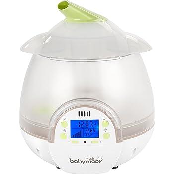 Babymoov Humidificateur Digital Vert/Blanc