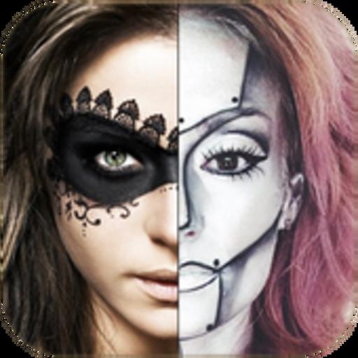 Halloween Costumes (Make-up Tutorial-ghost Halloween)