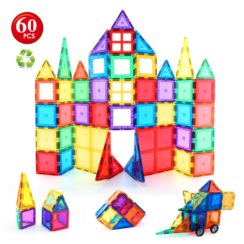 60pcs Magnetic Building Blocks Set Premium Quality Magnetic Toys