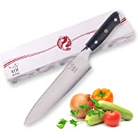 KOI ARTISAN Japanese Chef Knifes - 8-Inch Razor Sharp Blade - Professional Kitchen Knives in Gift Box – Damascus Knife VG10 Super Steel - Stain and Corrosion Resistant