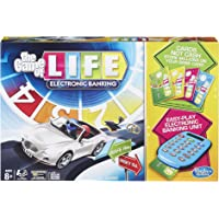 Hasbro Gaming The Game Of Life Electronic Board Game, Electronic Banking Unit And Bank Cards, Spin To Win; Game For Kids…
