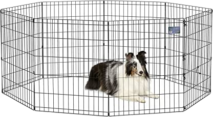 MidWest Foldable Metal Exercise Pen / Pet Playpen