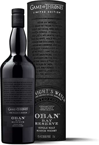 Oban Little Bay Reserve Single Malt Scotch Whisky – Die Nachtwache Game of Thrones Limitierte Edition (1 x 0.7 l)