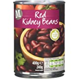 Morrisons Water Red Kidney Beans, 400 g, Pack of 24