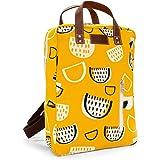 MAIKA Rucksack aus recyceltem Segeltuch mit Reißverschluss.