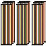 AZDelivery 3 x Jumper Wire Cables de Puente 20 cm Set de 120 pcs cada uno Macho-Hembra/Macho-Macho/Hembra-Hembra compatible c