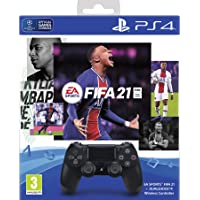 EA SPORTS™ FIFA 21 ( Game CD ) + DUALSHOCK®4 Wireless Controller + FUT 21 Voucher + PS Plus 14-day Free Trial Voucher