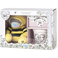 Me To You AGZ01093 Bee's Wildflower Gift Set-Tatty Teddy, Plant Pot & Seed Paper
