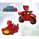 Pj Masks Diecast Twin Pack Toy Vehicle Playset for Kids, Boys & Girls, Age 3 Years and Above - 7 cm (Red)