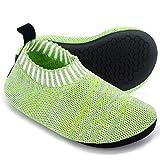 Dream Bridge Calcetines Antideslizantes para niños, Zapatillas de Punto Antideslizantes para niños, niñas, Calcetines para In