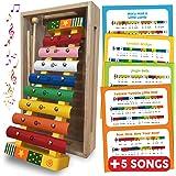 bee SMART — Xylophone - Instruments de Musique pour bébé - Instrument de Musique Xylophone en Bois pour Les Enfants - Présent
