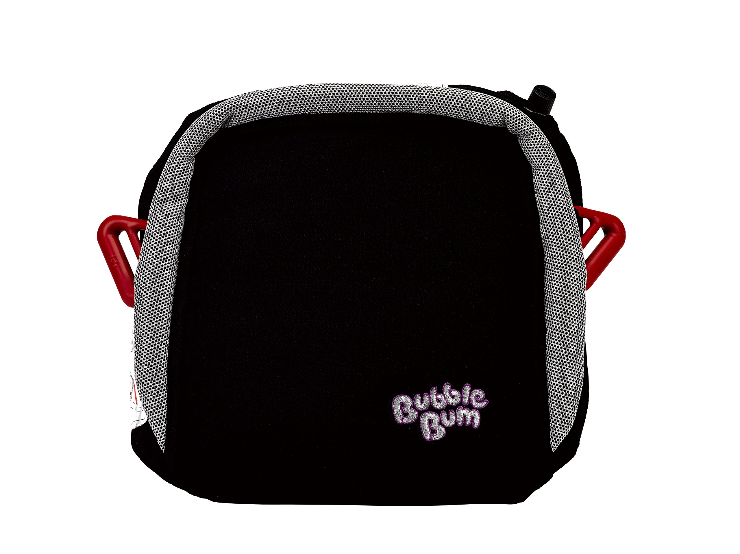 BubbleBum Inflatable Travel Car Booster Seat, Group 2/3, Black  The Award Winning BubbleBum Car Booster Seat The Inflatable, portable & safe booster seat for children aged 4 - 11, 15 - 36kg (with the provision of a vehicle headrest) Approved to the EU Safety Standard R44.04 for both Groups 2 and 3. Dimension - When inflated the seat measures 11 x11 x 4.5 Inches.  When deflated the seat measures 11.8 x 5.9 x 3.9 Inches.  Tip - ideal as you can now fit three across the back 2