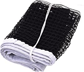 Highly Durable Long Lasting Table Tennis Nylon Threading Net Standard Size Black Color by R.P.M Sports