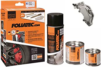 Foliatec Bremssattel Lack Set, Stratos-Silber Metallic
